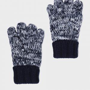 Γάντια Πλεκτά Δίχρωμα για Αγόρι