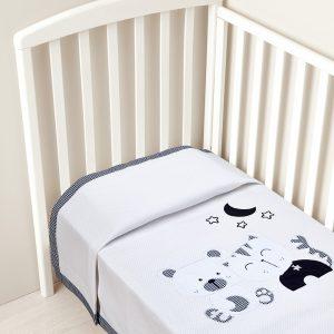 Κουβέρτα για κρεβάτι πικέ