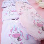 Βρακάκια Παιδικά Πακέτο Χ7 Μονόκερος για Κορίτσι