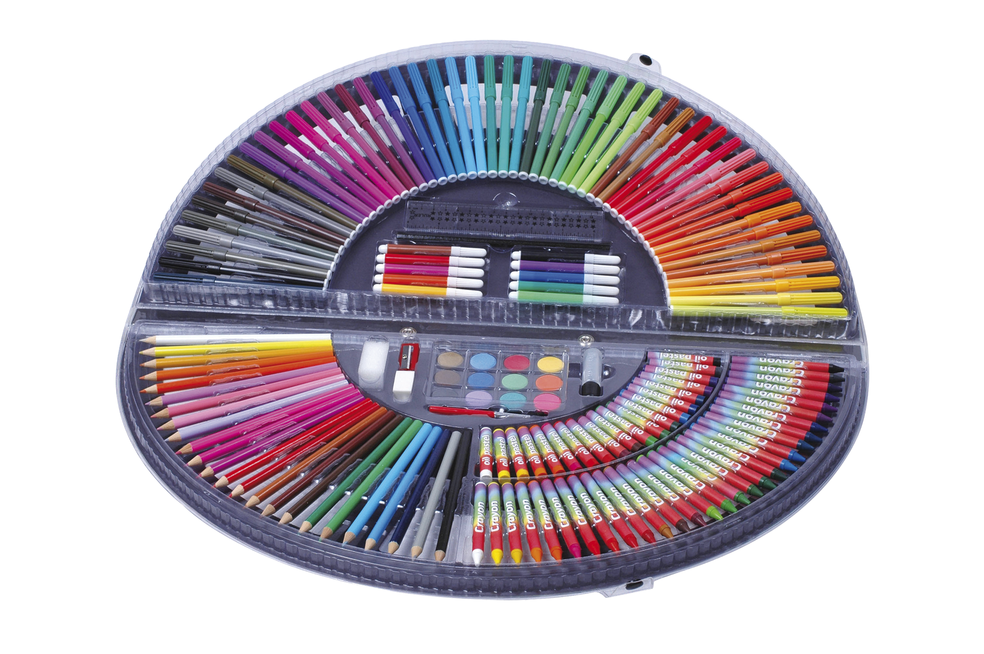 Creamania Βαλιτσάκι Χρώματα 153 τμχ