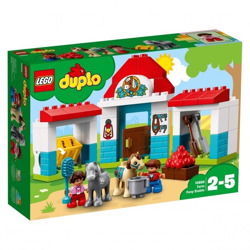 LEGO Duplo Στάβλος Των Πόνυ Της Φάρμας 10868