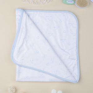 Κουβέρτα για Λίκνο Microfleece για Αγόρι