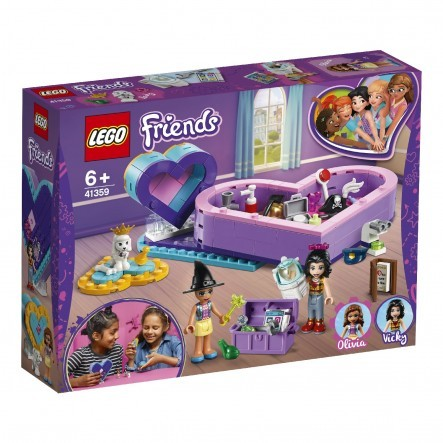 LEGO Friends Πακέτο Φιλίας Με Κουτιά-Καρδιές - Heart Box Friendship Pack 41359
