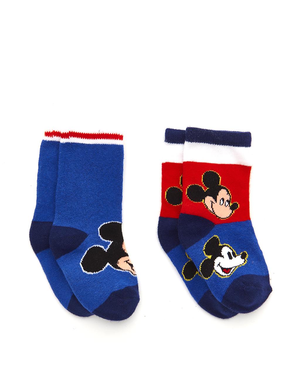 Κάλτσες Πακέτο Χ2 Mickey για Αγόρι