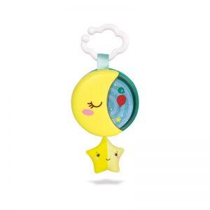 Baby Clementoni Βρεφικό  Μουσικό Κρεμαστό Μουσικό Φεγγαράκι 1000-17323