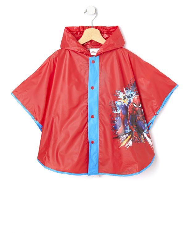 Αδιάβροχη Κάπα με Στάμπα Spider-man