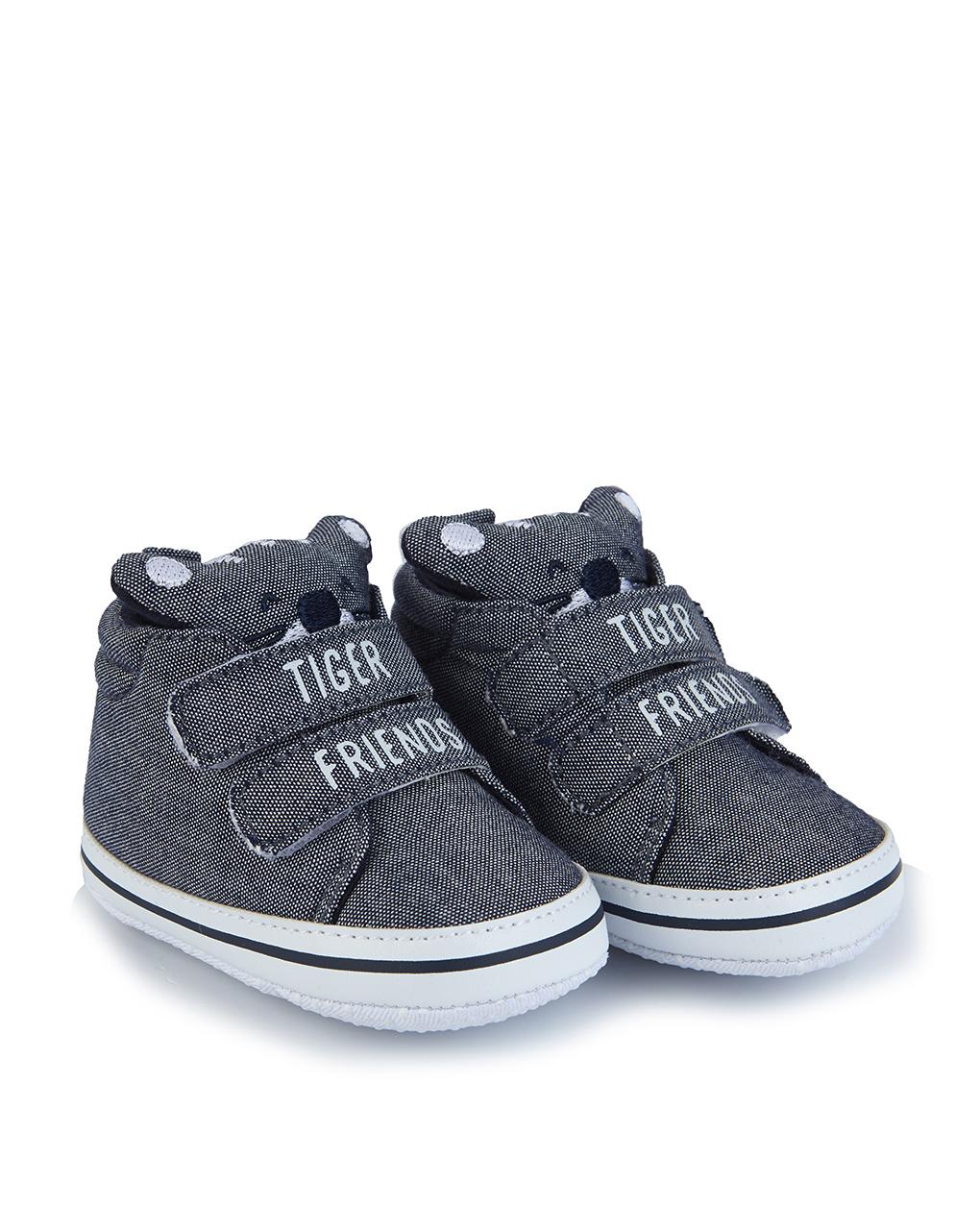 Βρεφικά Παπούτσια Αγκαλιάς chambray για Αγόρι