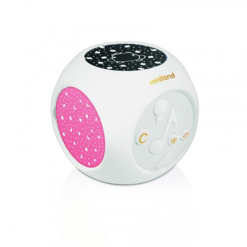 Miniland Φωτάκι Νυκτός Με Λευκούς Ήχους & Μελωδίες Dreamcube