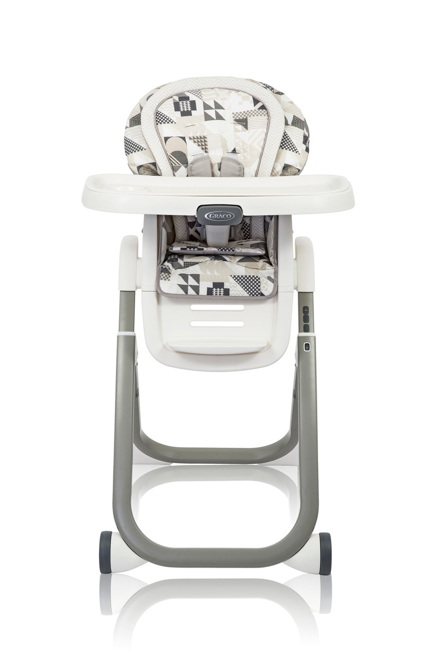 Graco Καρεκλάκι Φαγητού Duo Diner 6in1 Patchwork Gray