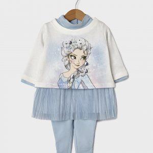Σετ 3 τεμαχίων Μπλούζα, Φούστα και Κολάν Frozen για Κορίτσι