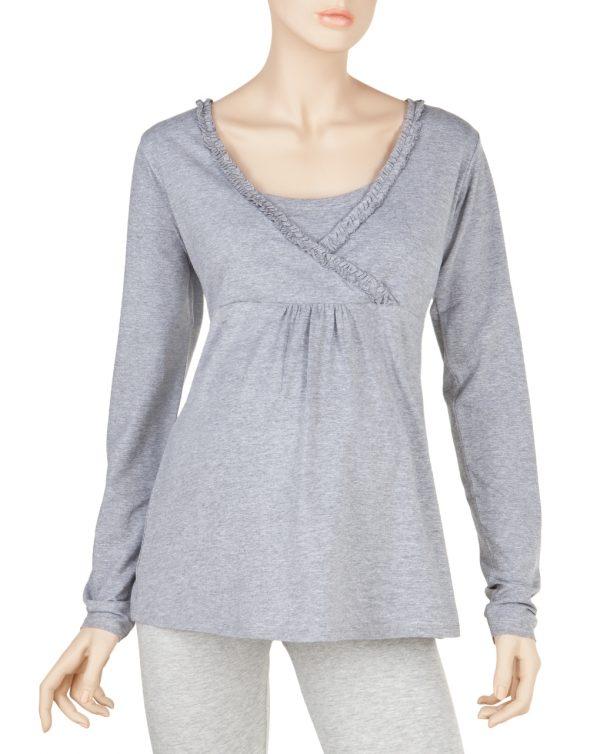 Γυναικεία Μπλούζα Θηλασμού Γκρι