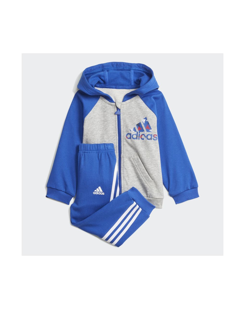 Adidas Σετ Φόρμας Badge of Sport Full Μπλε για Αγόρι H28829