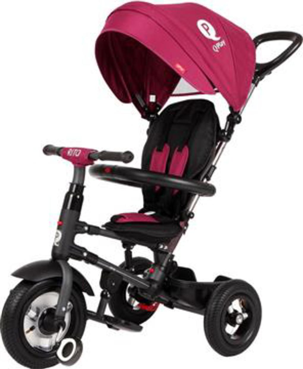 QPlay Rito Τρίκυκλο Air Wheels Purple (01-1212040-05)