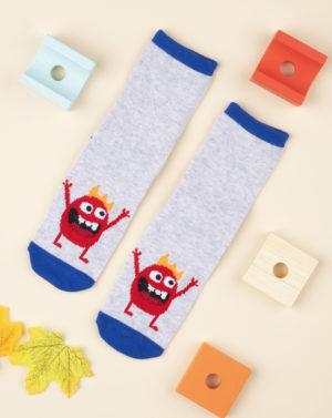Αντιολισθητικές Κάλτσες με Σχέδιο για Αγόρι
