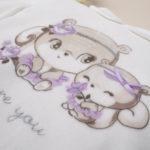 Σετ Μπλούζα και Γκέτες με Σκιουράκια για Κορίτσι