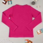 Μπλούζα Μακρυμάνικη Ριπ Φούξια για Κορίτσι