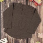 Μπλουζάκι Μακρυμάνικο με Στάμπα Πράσινο για Αγόρι