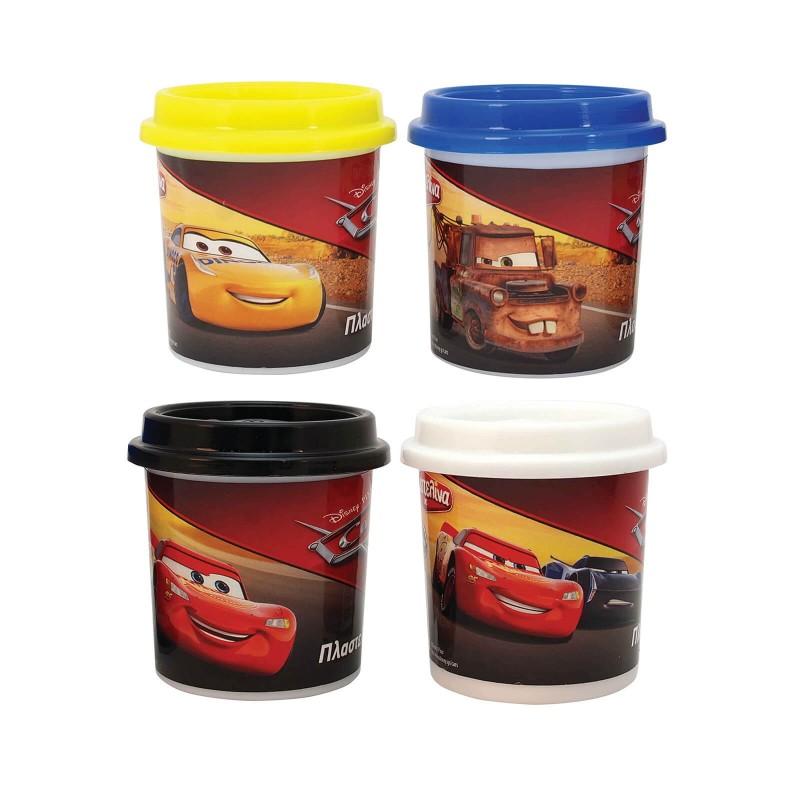 Πλαστελίνα Μονό Βαζάκι Πλαστελίνης Cars 1045-03545