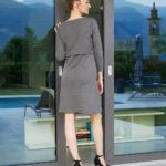 Γυναικείο Φόρεμα Θηλασμού Jersey Γκρι
