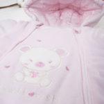 Φόρμας Εξόδου Σενίλ Ροζ για Κορίτσι