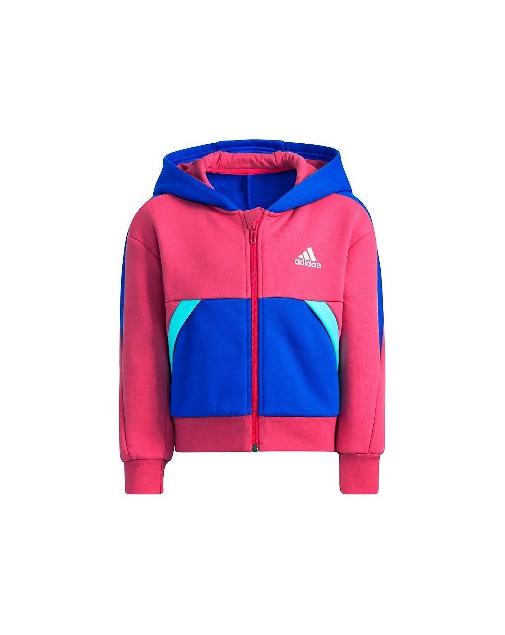 Adidas Ζακέτα Φόρμας Core Πολύχρωμη για Κορίτσι H39310