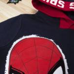 Μπλούζα Φούτερ Μπλε με Κουκούλα και Στάμπα Spiderman για Αγόρι