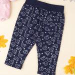 Παντελόνι Φόρμας με Γατάκια Μπλε για Κορίτσι