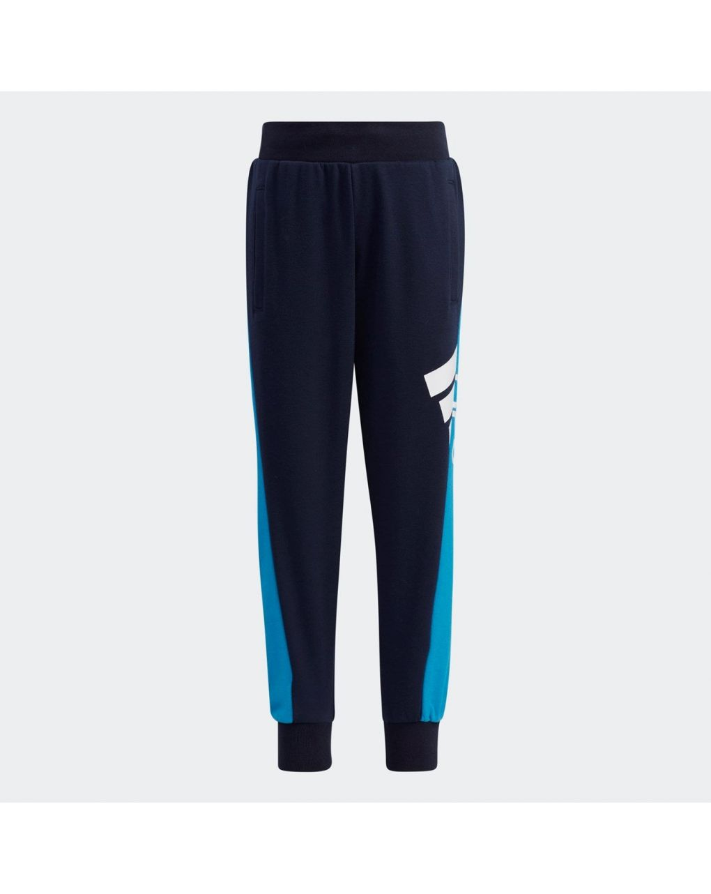 Adidas Παντελόνι Φόρμας Aeroready Badge of Sport Μπλε για Αγόρι H40260