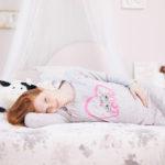 Γυναικείο Νυχτικό Εγκυμοσύνης-Θηλασμού Γκρι Εμπριμέ