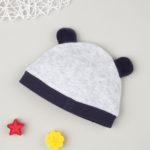 Καπέλο Σενίλ Γκρι με Mickey για Αγόρι
