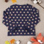 Ζακέτα Φούτερ Μπλε με Αρκουδάκια για Μεγ.8-9/9-10 ετών Κορίτσι