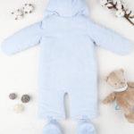 Φόρμας Εξόδου Σενίλ Γαλάζιο για Αγόρι