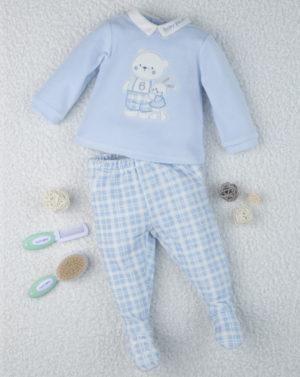 Σετ Σενίλ Μπλουζάκι & Γκέτα Γαλάζιο για Αγόρι