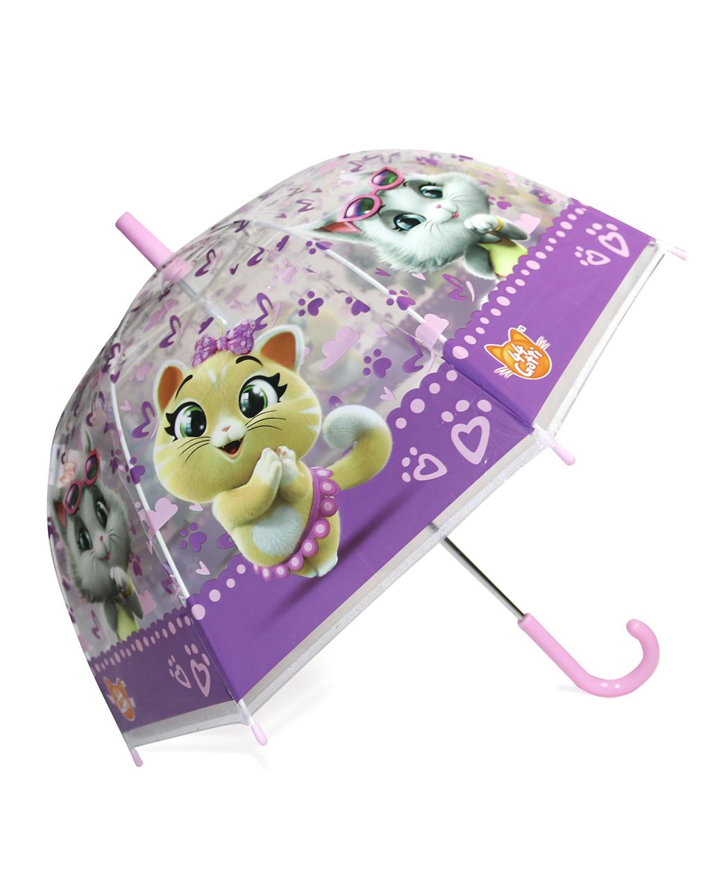 Ομπρέλα Παιδική με Σχέδιο Γάτες