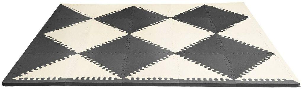 Skip Hop Χαλάκι Παιχνιδιού Playspot Geo Foam Floor Tiles Black/cream