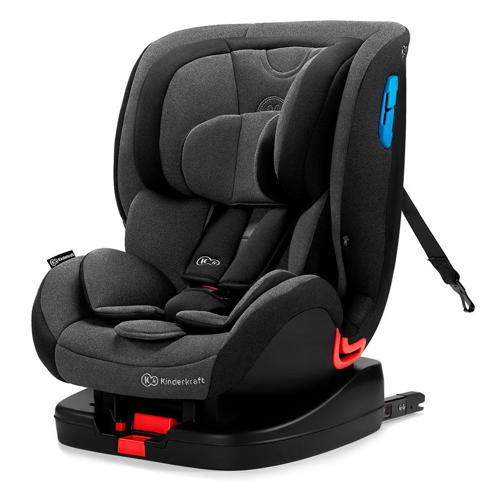 Kinderkraft Κάθισμα Αυτοκινήτου Vado With Isofix System Black