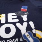 """Μπλουζάκι Μακρυμάνικο με Στάμπα """"hey boy"""" για Αγόρι"""