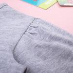 Μπλουζάκι Μακρυμάνικο Γκρι για Κορίτσι