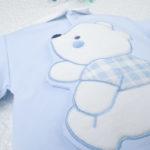 Φορμάκι Βαμβακερό Γαλάζιο για Αγόρι