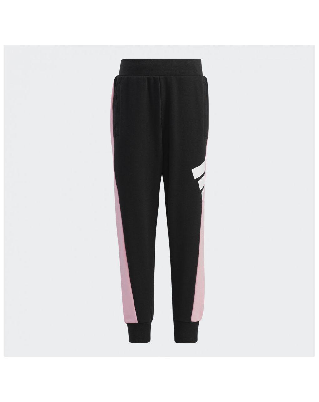 Adidas Παντελόνι Φόρμας Aeroready Badge of Sport Μαύρο για Κορίτσι H40261