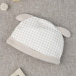 Καπέλο Σενίλ Καρό με Σκυλάκι για Κορίτσι