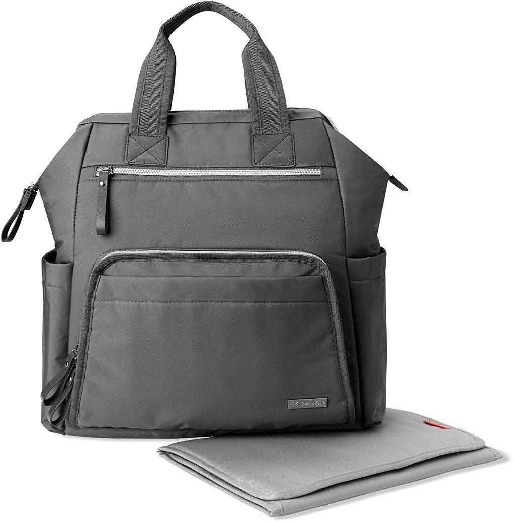 Skip Hop Τσάντα Αλλαξιέρα MainFrame Diaper Backpack Charcoal