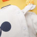 Φορμάκι Βαμβακερό Κρεμ με Minnie για Κορίτσι