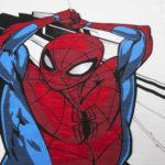 Μπλούζα Μακρυμάνικη Λευκή με Στάμπα Spiderman για Αγόρι