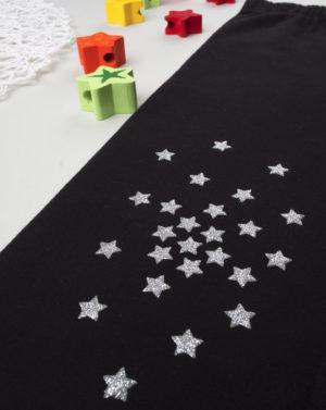 Κολάν Μαύρο με Αστεράκια για Κορίτσι