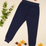 Παντελόνι Φόρμας Σκούρο Μπλε με Στάμπα για Κορίτσι