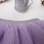 Φούστα Πλισέ από Τούλι Λιλά για Κορίτσι