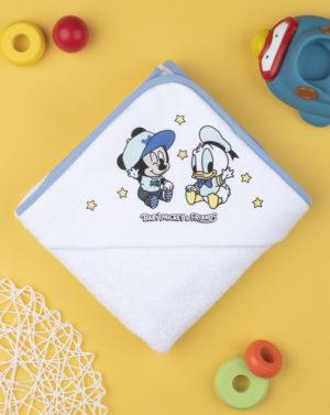 Μπουρνούζι με Στάμπα Mickey Mouse για Αγόρι