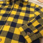 Πουκάμισο Βαμβακερό Καρό Κίτρινο για Αγόρι