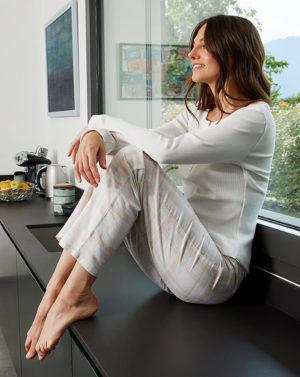 Γυναικείο Παντελόνι Πιτζάμας Καρό